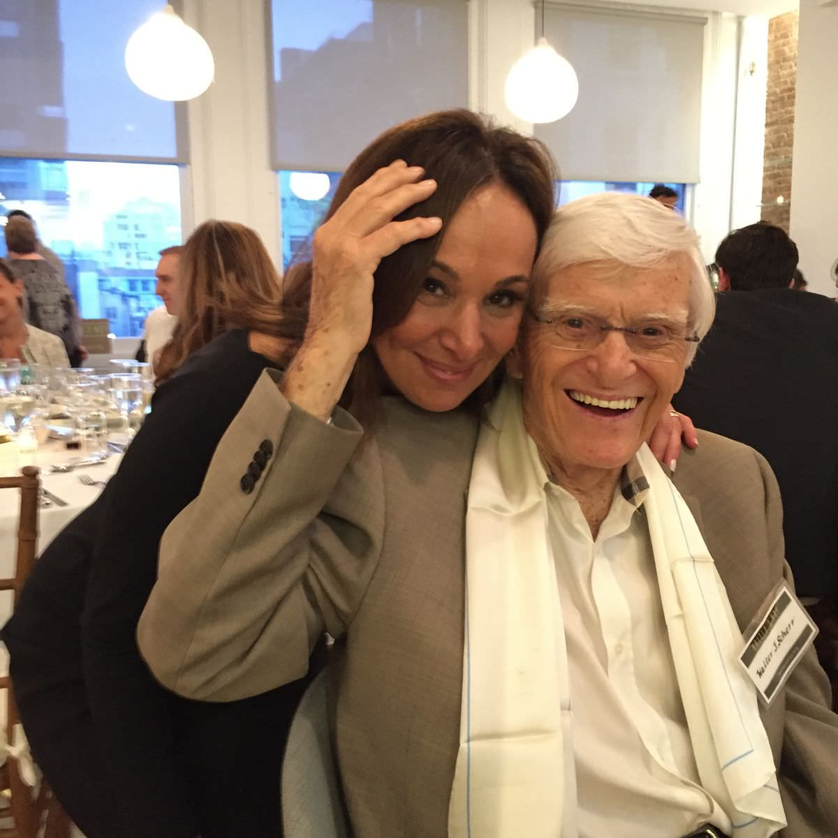 Walter with Rosanna Scotto